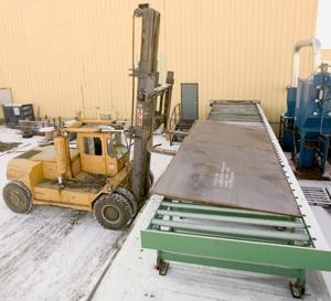 metal processing center