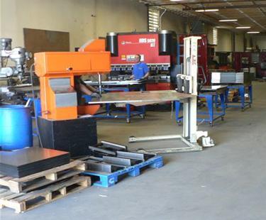 Seconn Fabrication shop floor
