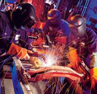 Group of welders