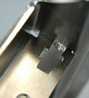 Hoja de fabricación de metales