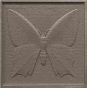 3-D Butterfly Abrasive Waterjet