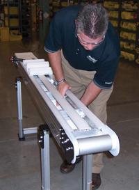 Shorten modular conveyor