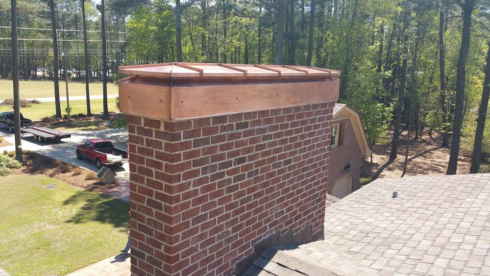Fabricating a copper chimney cap - The Fabricator