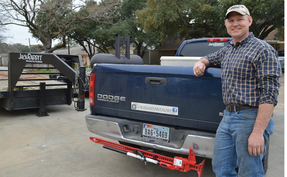 Fabricatorentrepreneur Makes The Most Of Everything Texas Has To - Texas metal car show