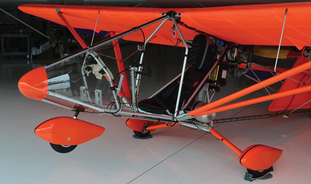 Terry Raber Kept It Simple When He Came Up With The Aerolite 103 Ultralight  Aircraft. The Design Has Been Modified Only ...