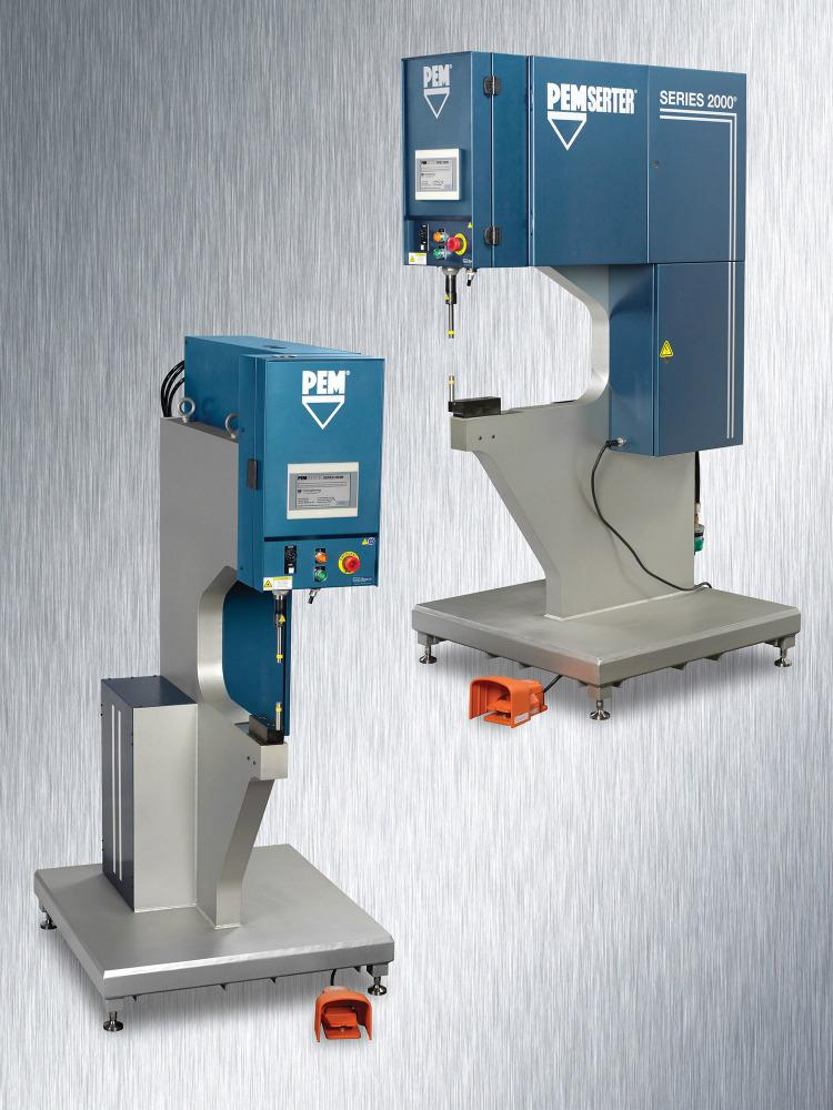 Fastener Installation Press Includes Manual Feed System