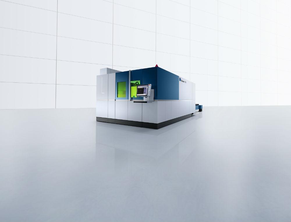 TRUMPF Inc. представила  систему TruLaser 5030 с лазером TruDisk мощностью 10 кВт. Он разрезает мягкую сталь до 1 дюйма, нержавеющую сталь до 1,5 дюйма и алюминий до 1 дюйма.
