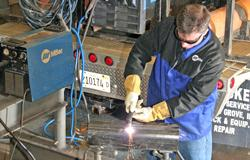 Welding all-in-one machines