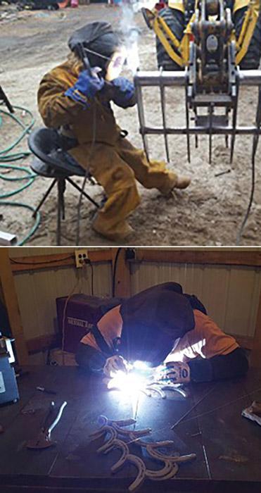 Generous Spirit Forms Essence Of Welder Fabricator Artist