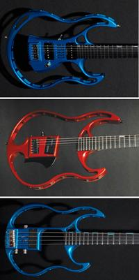 Branch electric guitars