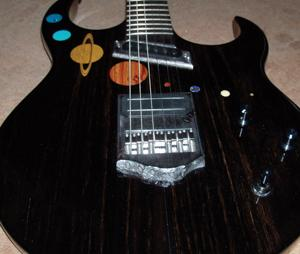 Branch guitar the Meteor