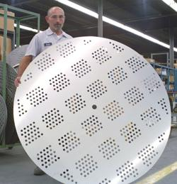 Lasercutting holes