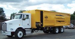 FSI Fabrication spreader truck