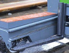 Tapered platform