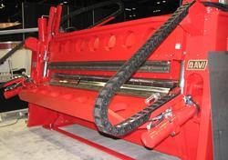 double beam folding machine