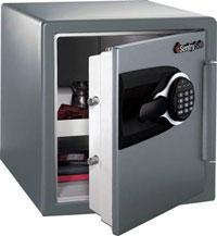 Folding machine fabricated safe