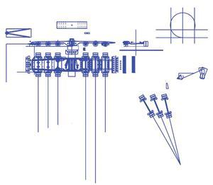2-d CAD layout