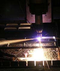 Heavy piercing with plasma - TheFabricator.com