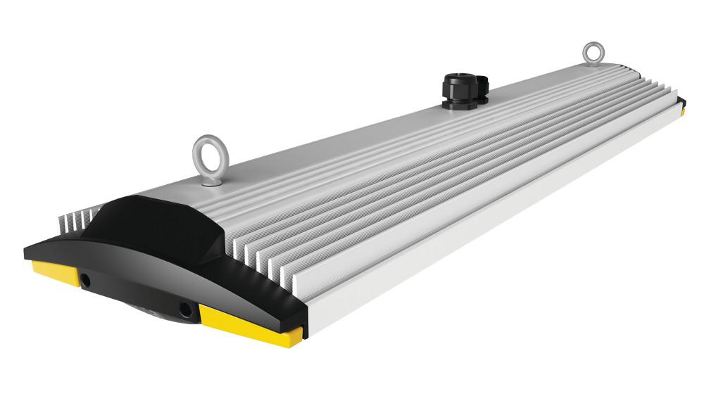 High Bay Fixture Protects Deflects Heat From Led The
