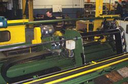 Haven 873 high-speed nick-and-shear cutting machine