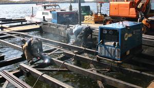 Nordcap welders