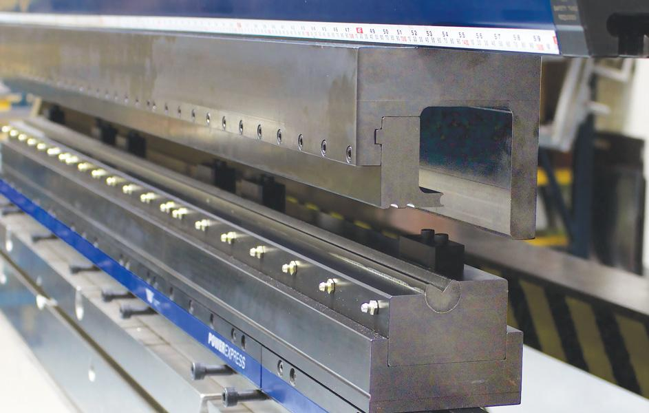 Horizontal Bending On The Press Brake The Fabricator