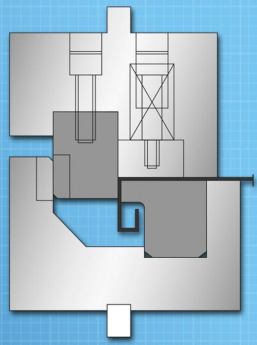 Horizontal Bending On The Press Brake The Fabricator