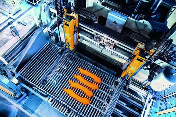 Hot-stamping line produces up to 4 million parts per year ...