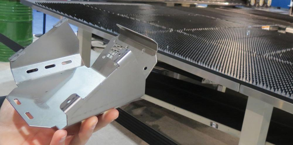 How A Punch Press Acts Like A Press Brake The Fabricator
