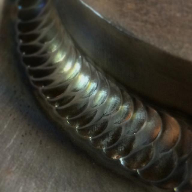 How do you get those weaved welds