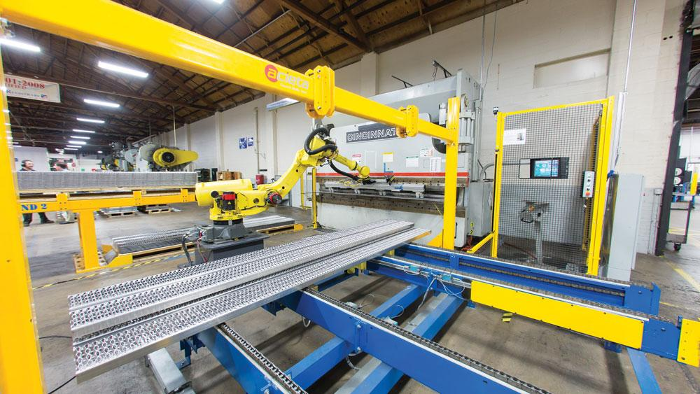 How Robots Are Changing Heavy Fabrication The Fabricator