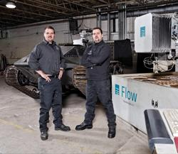 Howe brothers waterjet cutting
