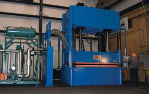 hydraulic compression molding