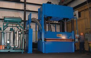 hydraulic compression molding