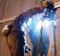 Mechanized welding system
