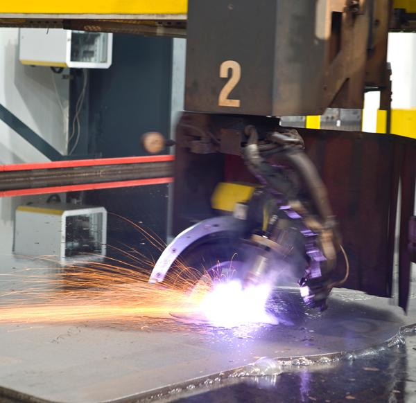 Improved plasma cutting of stainless steel the fabricator for A shear pleasure pet salon