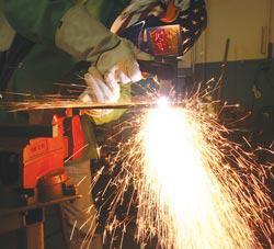 Proper weld speed
