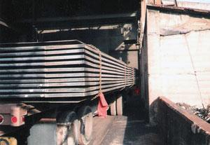 Loading expansion joints