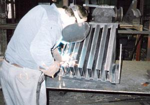 Welding square joints
