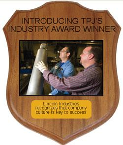 Lincoln Industries TPJ Winner