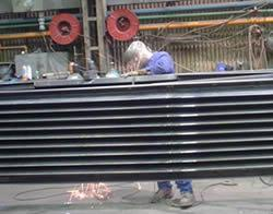 Low carbon steel expansion joint