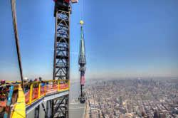 Kammetal fabricates One World Trade Center spire with TRUMPF laser - TheFabricator.com