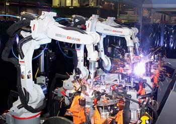 Motoman Robotic Welder