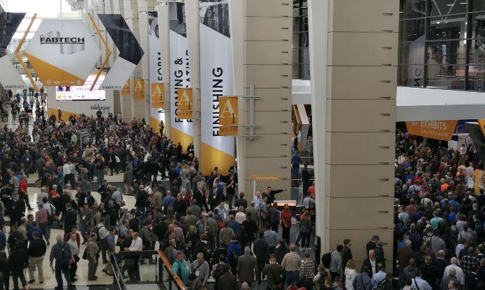 Рис. На этой неделе на FABTECH собрались толпы, ищущие машины, программное обеспечение и стратегии для увеличения мощности