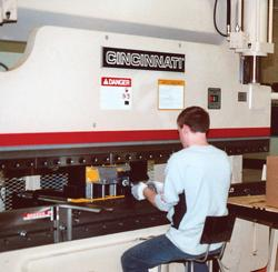 Cincinnati bending machine