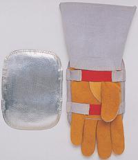 smaw aluminized shield