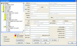 ERP Software Interface
