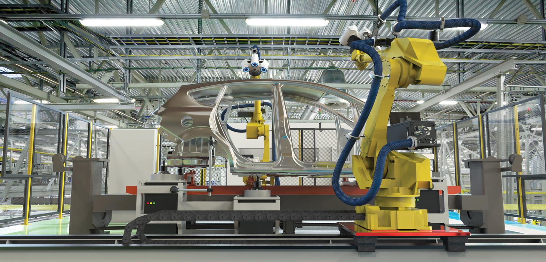 Measurement Systems Integrate Into Automotive Production