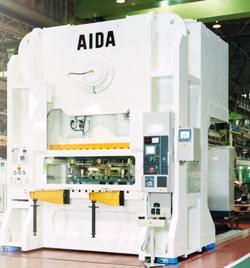 AIDA stamping machine