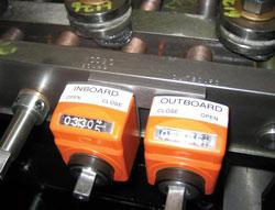 Inboard and Outboard settings